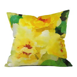 DENY Designs - Jacqueline Maldonado Renew Throw Pillow - Wanna transform a serious room into a fun, inviting space? Looking to complete a room full of solids with a unique print? Need to add a pop of color to your dull, lackluster space? Accomplish all of the above with one simple, yet powerful home accessory we like to call the DENY throw pillow collection! Custom printed in the USA for every order.