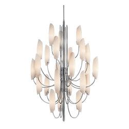 Kichler Lighting - Kichler Lighting 42214CH Stella Chrome 24 Light Chandelier - Kichler Lighting 42214CH Stella Chrome 24 Light Chandelier