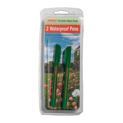 Bosmere - Bosmere Garden Marker Waterproof Pens - Pack of 2 Multicolor - H175 - Shop for Garden Equipment from Hayneedle.com! About Bosmere For over 25 years the Bosmere group has been established in the world of home garden and leisure. Bosmere manufactures original ideas and designs that are built to stand the test of time. One mark of their superior quality is that 20 to 30 percent of their business is exported to a world market that demands top quality service customer support and competitive pricing. Established in North America for over 15 years Bosmere has been serving the entire country and also sends wholesale goods to Canada Central and South America. Part of their focus on outstanding customer service includes products that are attractively packaged and well presented with informative instructions diagrams and photographs.