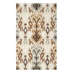 Surya - Surya SUR-BNT7674 Brentwood Transitional Hand Hooked Rug - The Brentwood Collection features a hand hooked construction of 1% polyester. Made in China, these rugs range in design motifs from transitional to contemporary and are woven to inspire your decor.