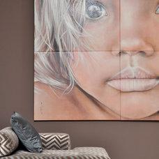 Contemporary Living Room by FOC Design