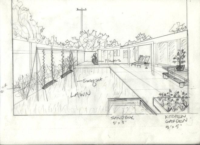 Modern  Orfi's Backyard