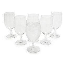 Schott Zwiesel Forte Water Goblet - Even if you're simply sipping water, choose a goblet for a chic presentation.
