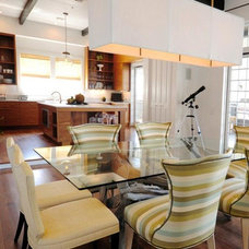 Beach Style Dining Room by Starr Sanford Design