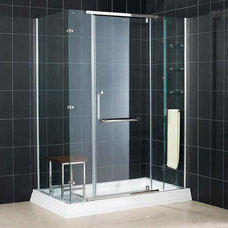 Modern Shower Stalls And Kits Vista Shower Enclosure by Bath Authority