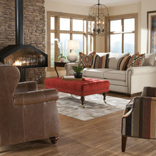Rustic Sofas by Huntington House Furniture