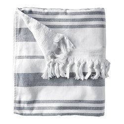 Fouta Oversized Towel - Serena & Lily has a great outdoor collection. I would love to be wrapped up in this oversize towel!