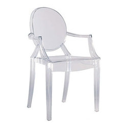 Kartell Louis Ghost Chair | Wayfair - The classic Kartell Louis Ghost Chair is guaranteed to impress all your friends.