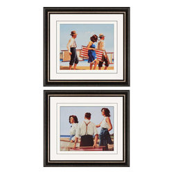 Paragon - Young Hearts II PK/2 - Framed Art - Each product is custom made upon order so there might be small variations from the picture displayed. No two pieces are exactly alike.