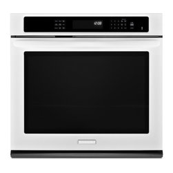 "KitchenAid - KEBS179BWH 27"" Single Electric Wall Oven with 4.3 cu. ft.  True Convection  Self - KitchenAid has spent decades creating innovative products for the well-equipped kitchen From commercial grade cooktops and wine cellars to stand mixers and an impressive assortment of cookware bakeware and accessories they offer virtually every culin..."