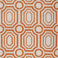 Orange Hudson Graphic Rug