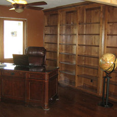 Traditional Bookcases by C&S Cabinets, Inc