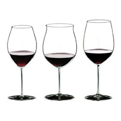Riedel - Riedel Sommeliers Anniversary Red Tasting Wineglass, Set of 3 - Host a home tasting to show off your fine wine collection. This set of lead crystal wineglasses will set the tone in superb style.