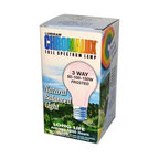 Chromalux Lumiram Full Spectrum 3 Way 50/100/150 Watts - Frosted - 1 Light Bulb - Color Correct