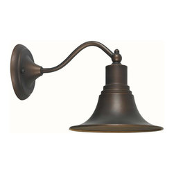 World Imports - Dark Sky 1 Light Outdoor Wall Lamp in Antique - Manufacturer SKU: WI 909686. Bulbs not included. Dark Sky compliant. Use indoors or out. Aluminum and Brass construction. Antique Copper Finish. Dark Sky Collection. 1 Light. Power: 100W. Type of bulb: Medium (Regular). Antique Copper finish. 13 in. Ext.. Back Plate 5 in. D. 8 in. W x 8 in. H (3 lbs.)