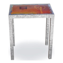 Mathews & Company - Modernite End Table with Painted Metal Top - Our overview of the new Modernite End Table with Painted Metal Top is on its way but you can still purchase this wonderful piece for your home today. If you have questions about the product just drop a line or send us an email! You can get all the important specifications below.