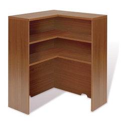 Jesper Office Furniture - 100 Series Office Corner Hutch - Features: