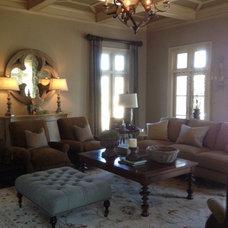 Traditional Living Room by Daniel DeSantis Interiors