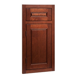 Fairmont Door | Cherry Russet Finish | CliqStudios.com Kitchen Cabinets - Historic in styling ...