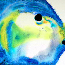 Animals, Fish and Birds - Tropical Fish 3 - Abstract Art By Sharon Cummings. Buy Fine Art Prints Online.