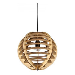 ParrotUncle - Wood Balloon Shade Indoor Pendant Lights - Wood Balloon Shade Indoor Pendant Lights