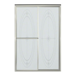"""STERLING PLUMBING - STERLING Deluxe Sliding Shower Door - Height 70"""", Max. Opening 48-7/8"""" - The Deluxe Sliding Shower Door brings a touch of tradition to the space, and offers dependable craftsmanship that's sure to highlight any bath for years to come."""
