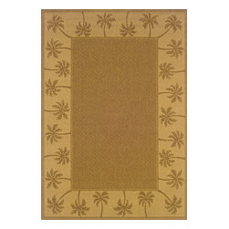 """Sphinx - Sphinx Lanai 606m Outdoor Rug - 6 ft 3 in x 9 ft 2 in - Oriental Weavers Sphinx Lanai 606m Area Rug . The Lanai Collection was inspired by the beauty and popularity of natural Sisal rugs. The multiple weaves and textures in each rug create fashionable, yet casual looks. The collection not only offers casual designs, but the inherently stain resistant fibers encourage a relaxed atmosphere to socialize with family and friends without the traditional worries associated with natural fiber rugs.Features: Casual designs inspired by sisal rugs, Multiple weaves and textures, Inherently stain resistantConstruction: Machine MadeMaterial: 100% PolypropylenePile Height: 1/8"""" - 1/4""""Please Note: Call for availability. Colors may differ from pictures.Please ask about getting a sample if you are unsure of color."""