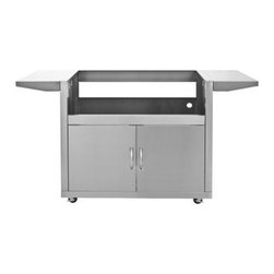 """Blaze Outdoor - Blaze Grill Cart for 40"""" Gas Grill - Stainless steel construction is durable in outdoor conditions"""