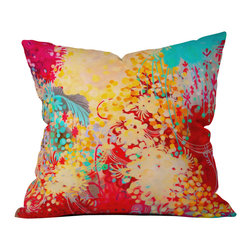 Stephanie Corfee Young Bohemian Outdoor Throw Pillow - Do you hear that noise? it's your outdoor area begging for a facelift and what better way to turn up the chic than with our outdoor throw pillow collection? Made from water and mildew proof woven polyester, our indoor/outdoor throw pillow is the perfect way to add some vibrance and character to your boring outdoor furniture while giving the rain a run for its money.