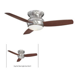 """MinkaAire - MinkaAire Traditional Concept 44 3 Blade 44"""" Flush Mount Indoor/Outdoor Ceiling - MinkaAire F593 Tradional Concept Flush Mount Ceiling FanFeatures:"""