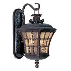 Maxim Lighting - Maxim Lighting 30495ASOI Orleans 3-Light Outdoor Wall Lantern - Features
