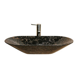 The Allstone Group - V-VG02814 New Leopard Polished Vessel Sink - Natural stone strikes a balance between beauty and function. Each design is hand-hewn from 100% natural stone.  Vessel sinks can be the most inspiring feature in a bathroom, adding style and beauty to any bath space.  Stone not only is pleasing to the eye but also has the feel of something natural and solid.