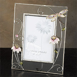 Artico - 9 Inch Photo Frame, Butterfly Pink - This gorgeous 9 Inch Photo Frame, Butterfly Pink has the finest details and highest quality you will find anywhere! 9 Inch Photo Frame, Butterfly Pink is truly remarkable.