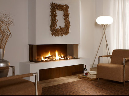 Contemporary Fireplaces by Vancouver Gas Fireplaces