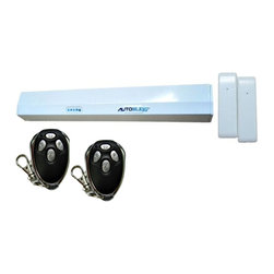 Autoslide - Autoslide Remote Activated Bundle for Sliding Glass Doors, White - The Autoslide Clicker Bundle was packaged and created with the physically impaired in mind. There are many who cannot physically open and close their sliding glass doors. Just because you can't open the door doesn't mean you don't want to go outside. With the four button remotes included in this bundle, the problem is now solved.