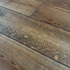 Tahoe Plank Series- French Cut White Oak - Our Custom Prefinished European/French cut White Oak Plank Flooring.