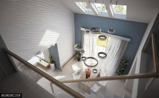 Contemporary  Contemporary Family Room