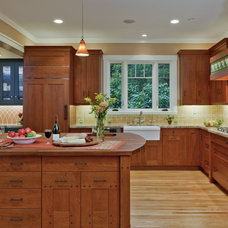 Traditional Kitchen by Custom Kitchens by John Wilkins Inc