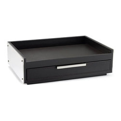 Downing Charging Station, Black - This gorgeous black charging station is so sleek and pretty.