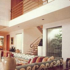 Contemporary Living Room by Adelene Keeler Smith Interior Design