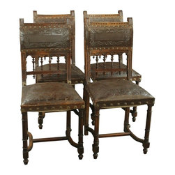 EuroLux Home - Consigned Antique Walnut French Renaissance Henry II - Product Details