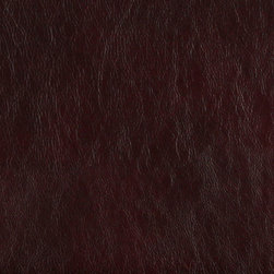 Burgundy Upholstery Recycled Leather By The Yard - Recycled leather is a sustainable environmentally friendly alternative to leather and pvc. Recycled leather looks and feels like genuine leather, but is sold by the yard and easier to maintain. The backing of this pattern is a blend of genuine leather, and results in a soft and durable leather alternative. There are several grades of recycled leather materials, ours are top grade. This material is cleanable with mild soap and water.