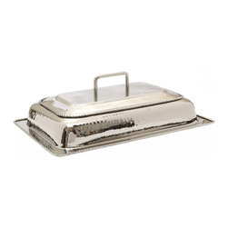 Old Dutch International - Lid only for #683 Chafing Dish - When it comes to entertaining, you've got it covered — literally! This stainless steel lid for your large chafing dish keeps food warm, moist and delectable and looks great doing it.