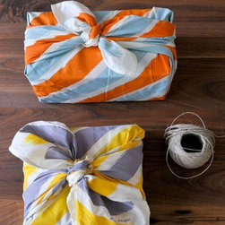 Chewing the Cud Organic Fabric Wraps - Cotton cloth used for wrapping is nothing new, but these darling contrasting stripes make it seem that way. I love that this is a versatile idea and a gift in itself as well.