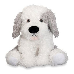 """Melissa And Doug - Melissa & Doug Sheridan Sheepdog Puppy Dog Stuffed Animal - Good training and a slightly weighted bottom will help Sheridan """"Sit."""" Covered with appropriately curly fur, with velvety soft paws, this adorable nine-inch dog will """"stay"""" a favorite through many hugs and cuddles."""