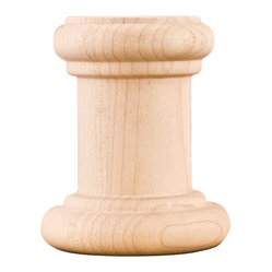 Rubberwood Spools Traditional Moldings