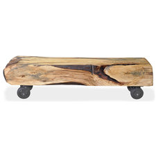 Eclectic Indoor Benches by Urban Tree Salvage