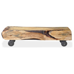 eclectic benches by Urban Tree Salvage