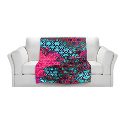 DiaNoche Designs - Throw Blanket Fleece - Sky Pattern II - Original Artwork printed to an ultra soft fleece Blanket for a unique look and feel of your living room couch or bedroom space.  DiaNoche Designs uses images from artists all over the world to create Illuminated art, Canvas Art, Sheets, Pillows, Duvets, Blankets and many other items that you can print to.  Every purchase supports an artist!