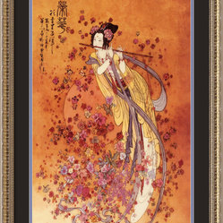 Goddess of Prosperity Framed Print by Chinese